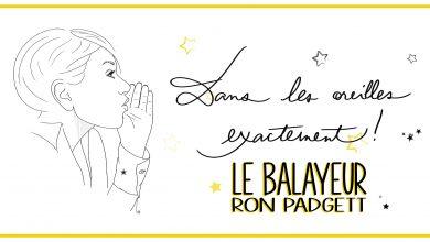Photo of Le balayeur de Ron Padgett