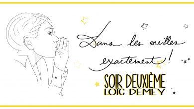 Photo de Loïc Demey – Soir deuxième extrait de «Je, d'un accident ou d'amour»
