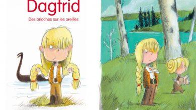 Photo of Dagfrid, des brioches sur les oreillesde Agnès Mathieu-Daudé, etillustrépar Olivier Tallec