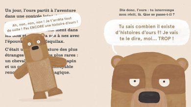 Photo de «Encore une histoire d'ours»: un album extrêmement original !