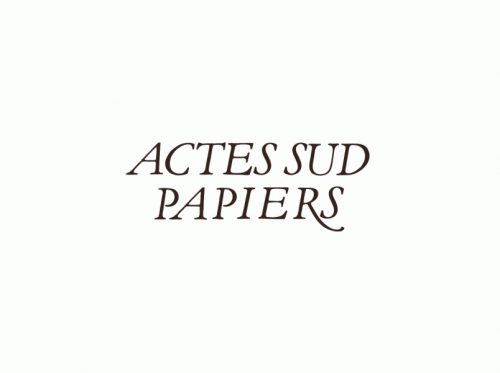 Actes Sud Papiers