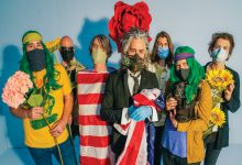 Photo de The Flaming Lips, la croix et la bannière… étoilée