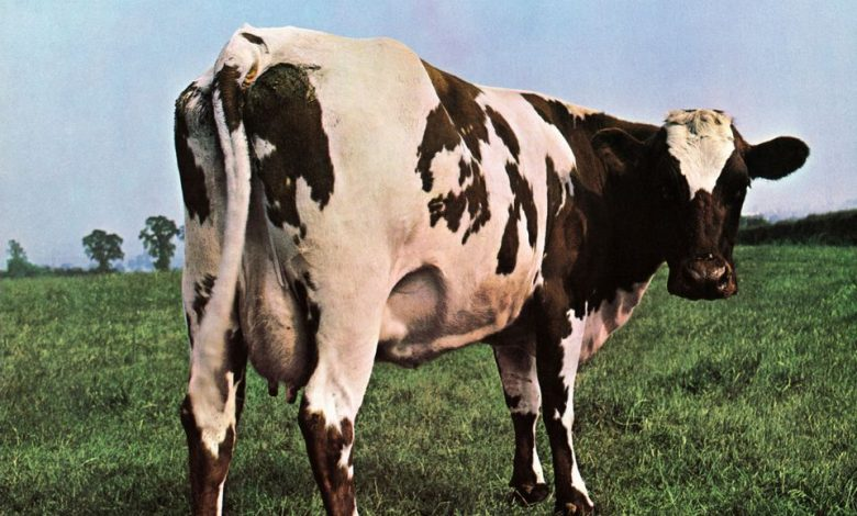 "Photo de 2 octobre : 1970, sortie de l'album ""Atom Heart Mother"" de Pink Floyd"